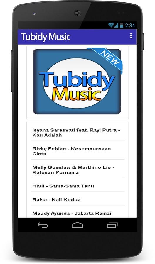 رابط الاغاني tubidy mobi