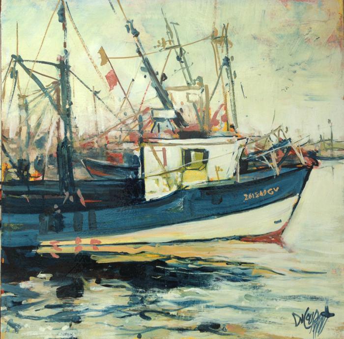 Французский художник. Rene Ducouran