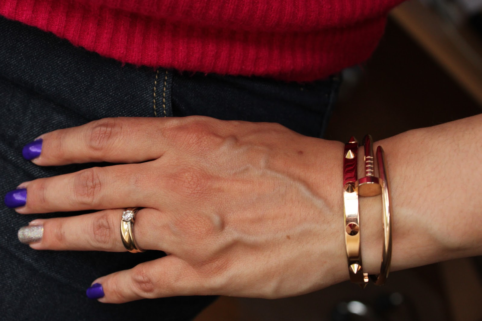 EBAY HAUL TWO NICE ROSE GOLD BANGLES ITS A BLOGGERS WORLD