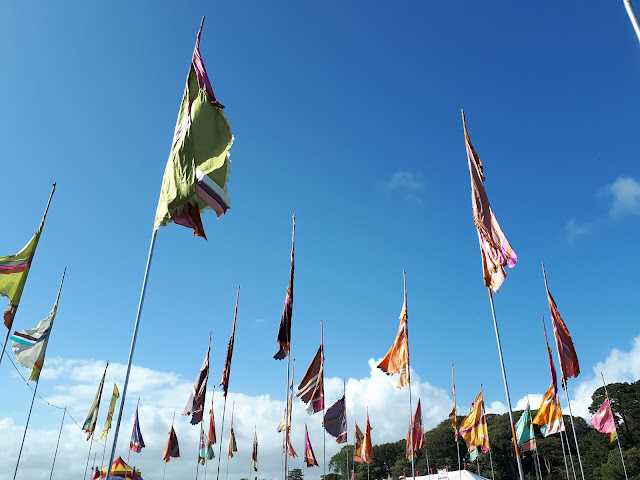 Project 365 2017 day 208 - Blue skies at Camp Bestival // 76sunflowers