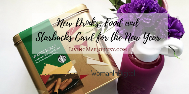 Woman-In-Digital-New Drinks, Food and Starbucks Card for 2017