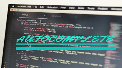 Cara Membuat Inputan Autocomplete dari Database Cara Membuat Inputan Autocomplete dari Database dengan JQuery dan PHP