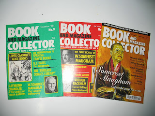 covers of book and magazine collector maugham issues