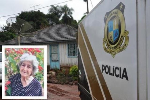 Senhora de 78 anos é degolada pelo neto em Goioerê