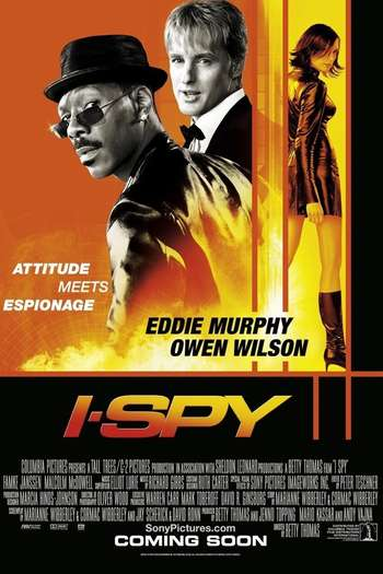 Poster Of I Spy 2002 Dual Audio 300MB Web-DL 480p Free Download Watch Online Worldfree4u