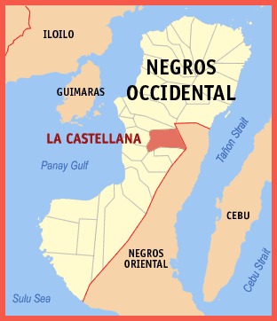 La Castellana Map