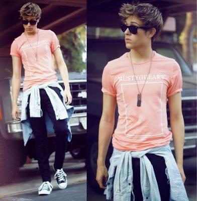 camisa masculina na moda
