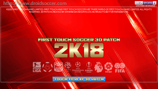 FTS 2K18 by Danank Apk + Data Obb Android