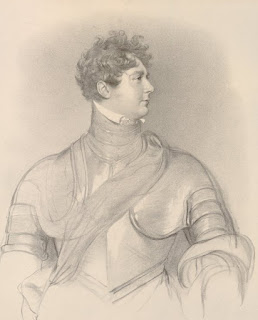 George IV from a drawing  by Sir Thomas Lawrence c1829   drawn on stone by R Lane  and printed by C Hullmandel   © The Trustees of the British Museum