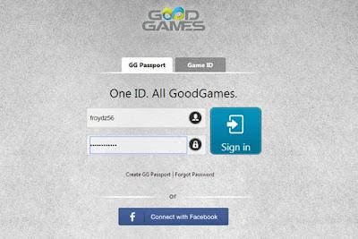 membuat akun pb mobile di goodgames
