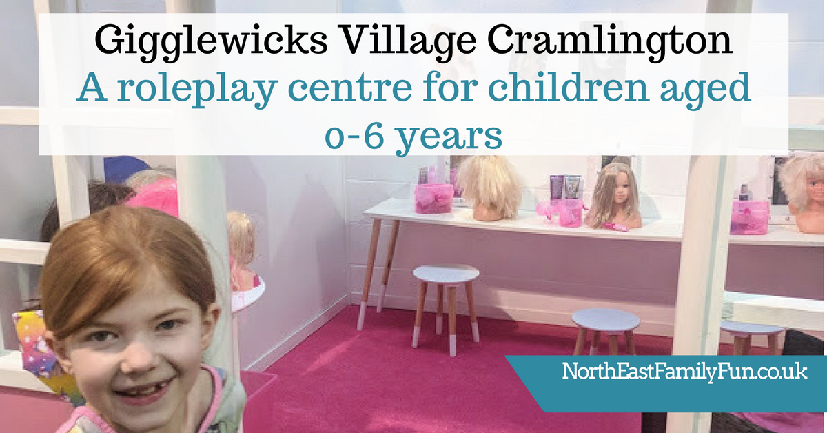 Gigglewicks Village Cramlington - A role play centre for children aged 0-6 years | All you need to know including prices and menus