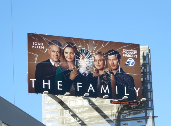 The Family TV billboard