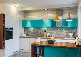 Pequeña cocina moderna