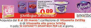 Logo Vitasnella : vinci 150 cofanetti Smartbox ''Per Lei''