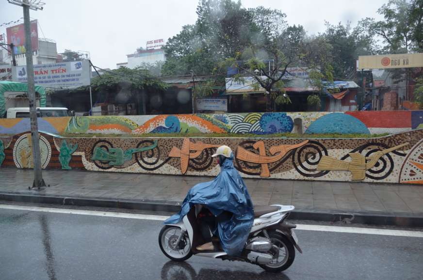Wietnam, Jola Stępień, skuter, HANOI