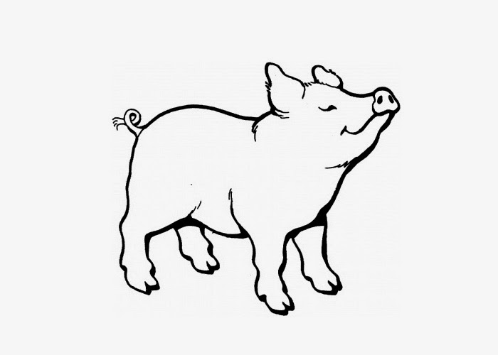 coloring pages of pigs and piglets | Pig coloring pages | Free Coloring Pages and Coloring ...