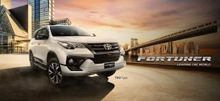 Spesifikasi dan Harga Toyota Fortuner 2018