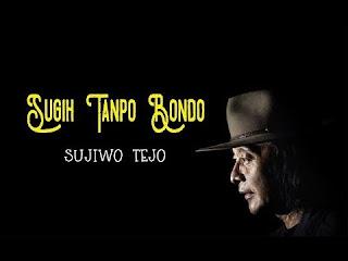 "Syair ""Sugih Tanpo Bondo"" Sujiwo Tejo"