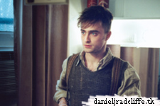 The Cripple of Inishmaan: Daniel Radcliffe in his dressing room