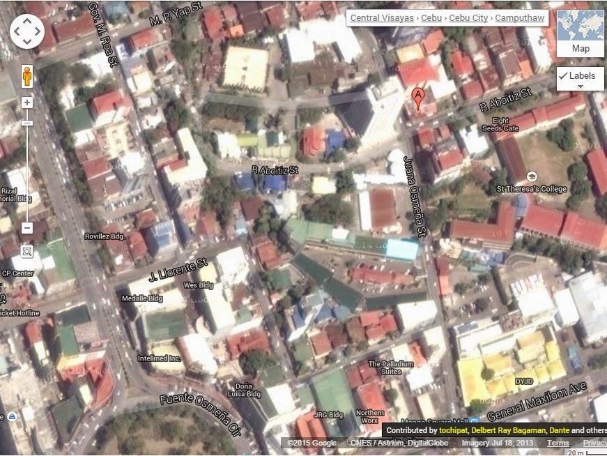 FTW! Blog, Backyard Burgers Cebu Map, #032eatdrink