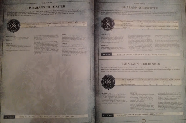 Isharann warscrolls