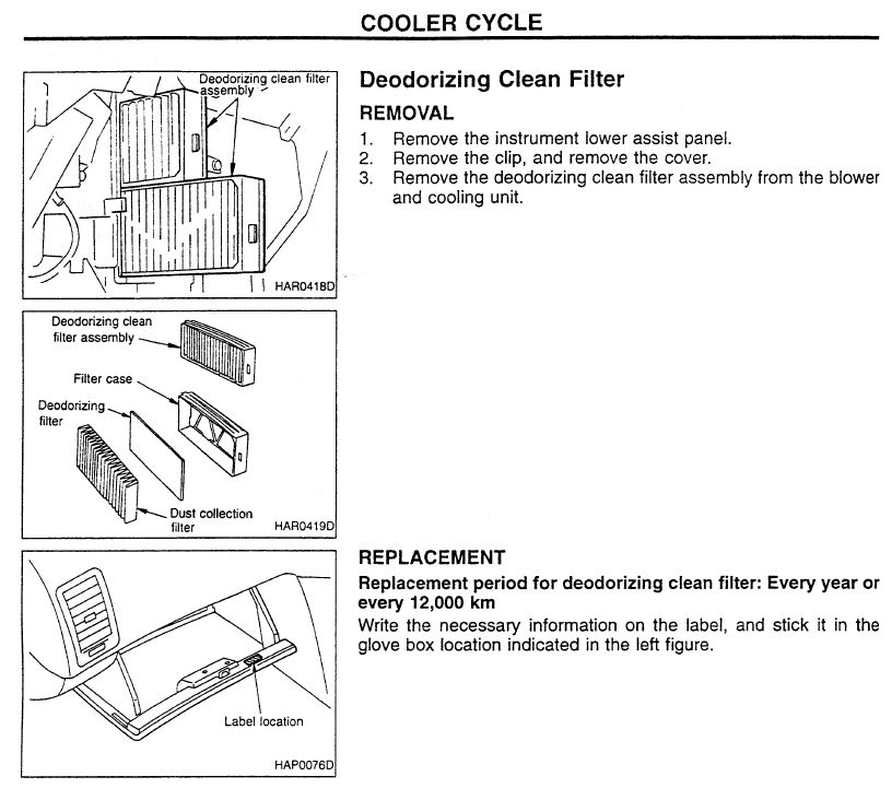 Cabin Air Filter Cost >> Skyline R34 Cabin Air Filter Replacement Skyline R34 Adventure