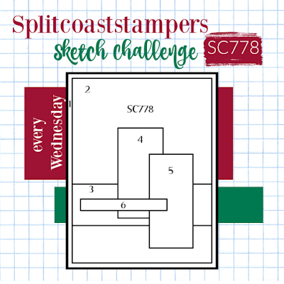 Splitcoaststampers Sketch Challenge 778