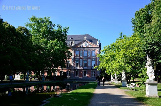 Jardines del palacio electoral de Trier