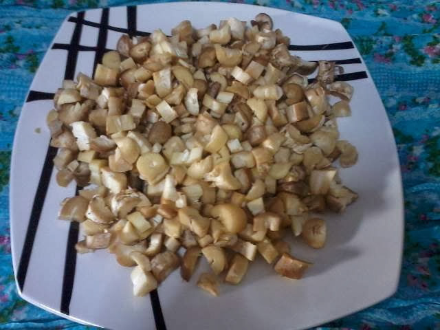 Receita de cogumelos de paris recheados com presunto cebola e queijo