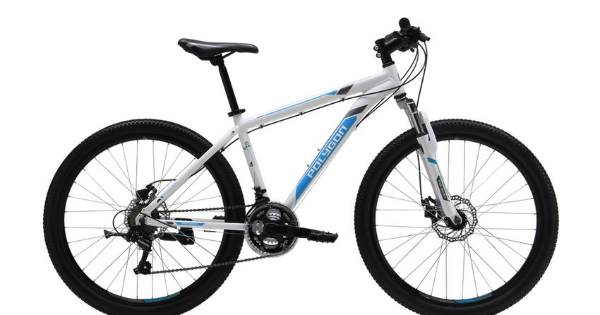 "Sepeda Gunung Polygon Monarch 4.0 26"" - Putih"