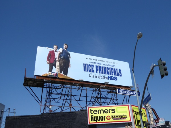 Vice Principals series launch billboard