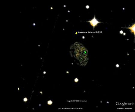 Asteroid Heading towards Earth 2012 - Pics about space