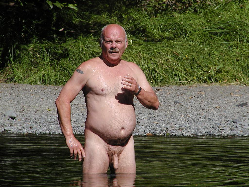 Gay senior naked man — 10