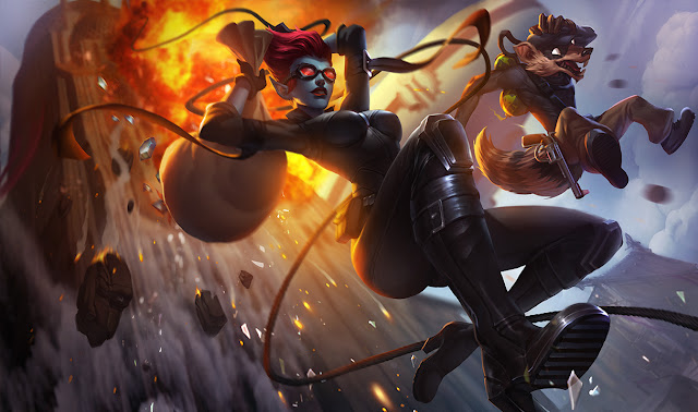 Mod Skin Safecracker Evelynn