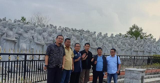 Wisata Dadakan Ke Wihara Patung Seribu - Tanjung Pinang