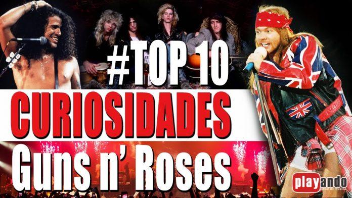 Curiosidades sobre os Guns n' Roses