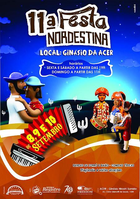 Ginásio da ACER é o novo cenário da Festa Nordestina de Registro-SP