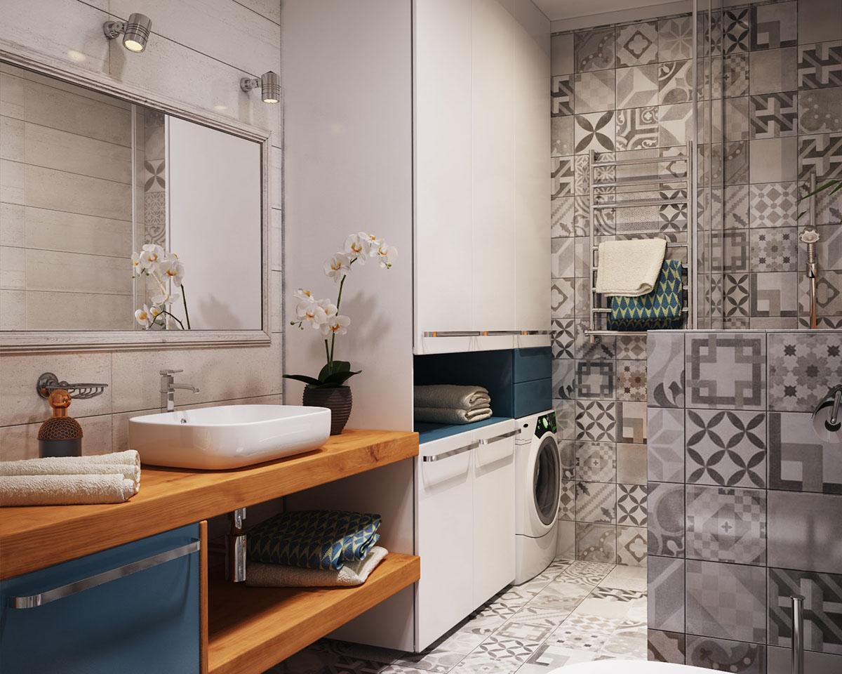small bathroom storage and design ideas