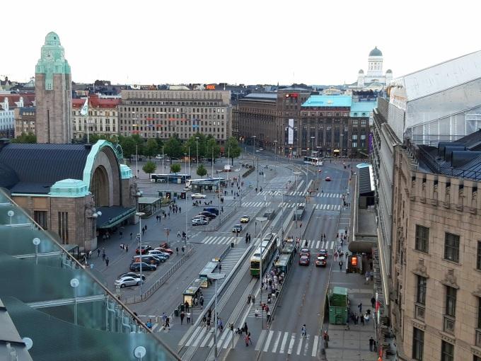 Ravintola Loiste, näköalapaikka Helsingin keskustaan