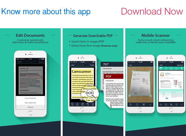 Download CamScanner Pro for iPhone