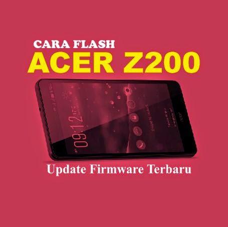 cara flash acer z200
