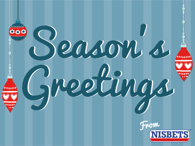 Season's Greetings From Nisbets
