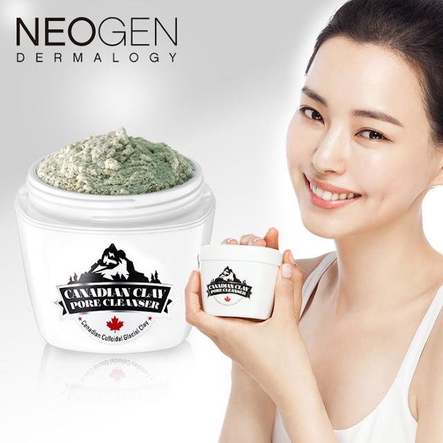 沈玉琳推薦的韓國保養品【NEOGEN DERMALOGY】加拿大冰河活氧淨透泥面膜 評價 哪裡買