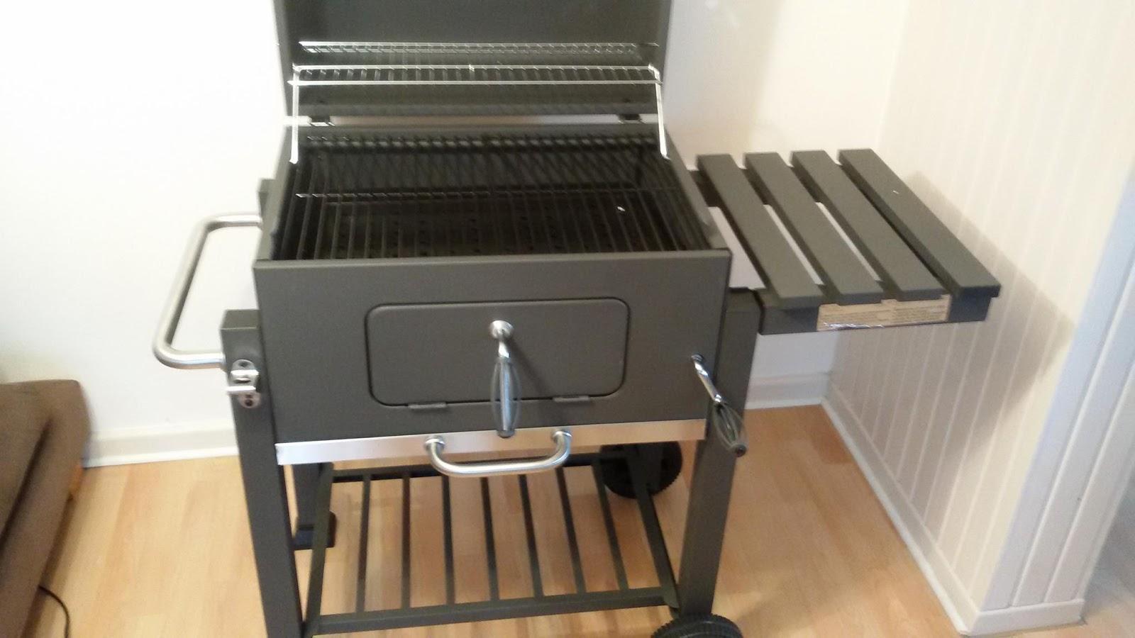 Tepro Toronto Holzkohlegrill Aufbau : Ollis grillabenteuer: test tepro toronto grillwagen