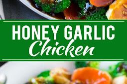 Recipe - Honey Garlic Chicken Stir Fry