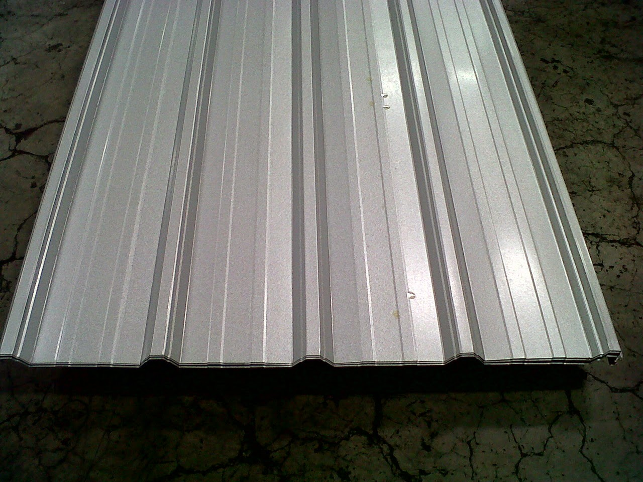 jenis bentuk baja ringan mesin ringan: atap spandek