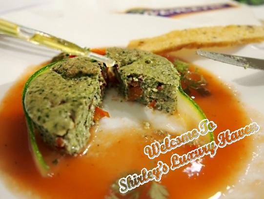 afc studio zucchini terrine tomato gazpacho