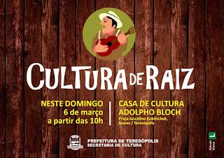 projeto Cultura de Raiz em Teresópolis RJ