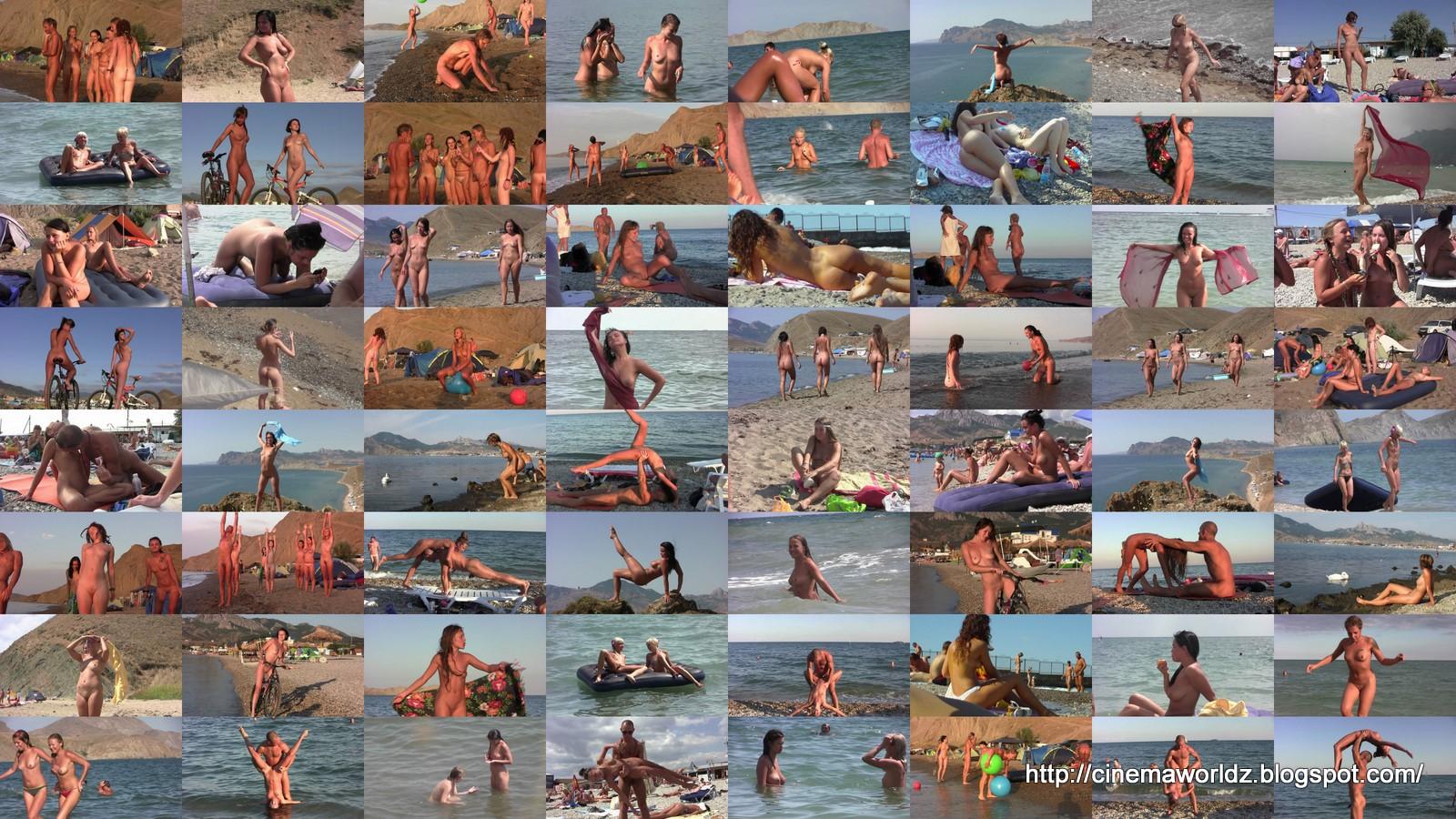 Нудисты на пляже 1/ Nature-Girls 1.