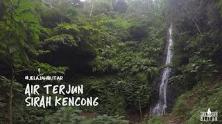 tempat wisata Air Terjun Sirah Kencong